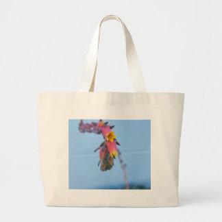Floración suculenta bolsa de mano