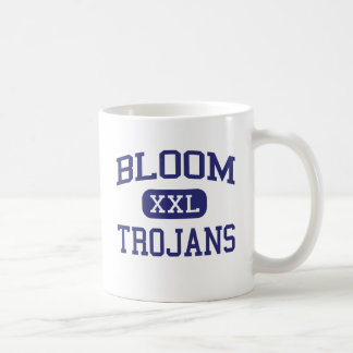 Floración - Trojan - alta - Chicago Heights Taza Básica Blanca