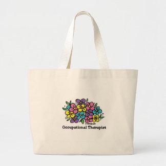 Floraciones 1 del terapeuta profesional bolsa de mano