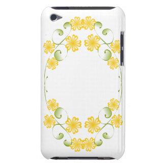 Floraciones amarillas de oro de la acuarela iPod touch Case-Mate funda