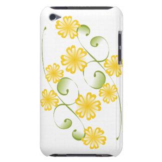 Floraciones amarillas de oro de la acuarela iPod touch Case-Mate carcasas