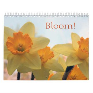 Floraciones Calendario De Pared