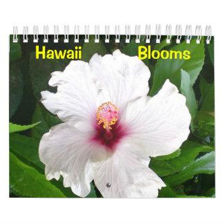 Floraciones de Hawaii Calendario