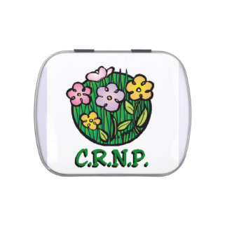 Floraciones de la enfermera de CRNP Latas De Caramelos
