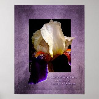 Floraciones de la Poster-Esperanza