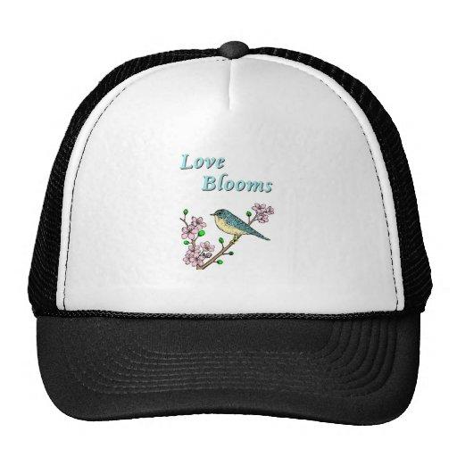 Floraciones del amor gorras de camionero