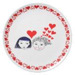 Floraciones del amor plato