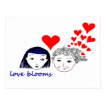 Floraciones del amor postal