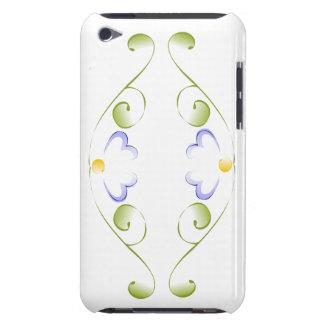 Floraciones del bígaro de la acuarela barely there iPod cobertura