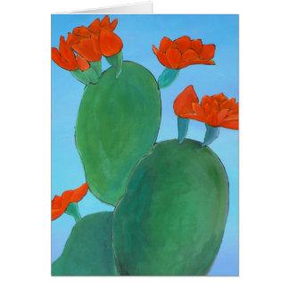Floraciones del desierto tarjetas