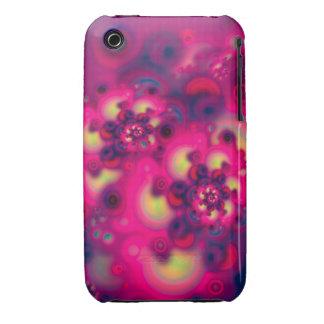 Floraciones del espacio Case-Mate iPhone 3 carcasa