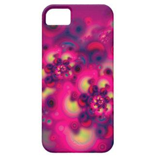 Floraciones del espacio iPhone 5 carcasa