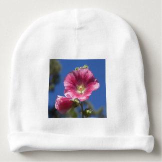 Floraciones del Hollyhock Gorrito Para Bebe