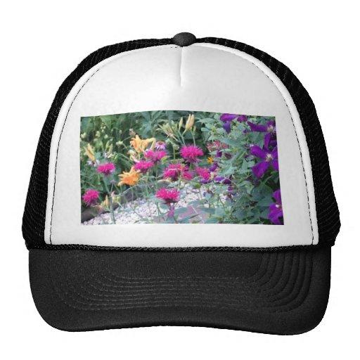 Floraciones del jardín gorros