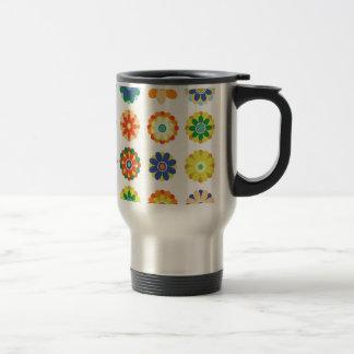 Floraciones hermosas #3 tazas de café
