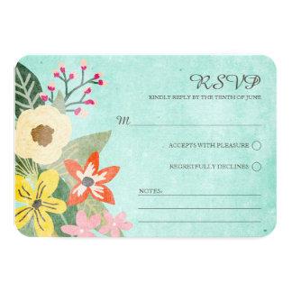 Floraciones hermosas que casan la tarjeta/la anuncios