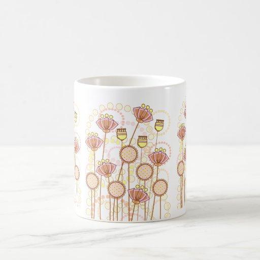 ¡Floraciones maravillosas dulces! Taza Clásica