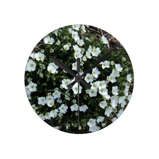 Floraciones Reloj De Pared