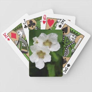 Floraciones salvajes de la baya baraja de cartas