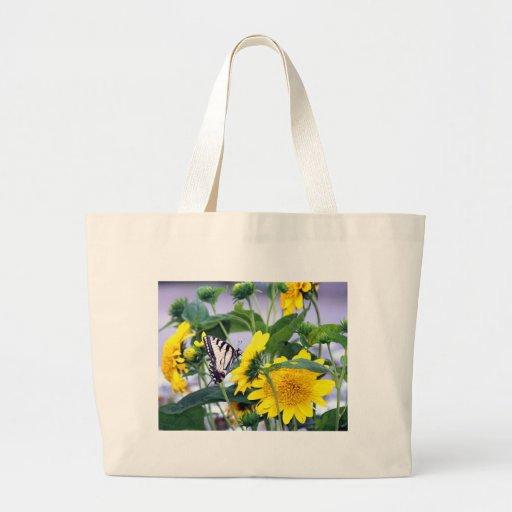 Floraciones y mariposas - cola del trago bolsa