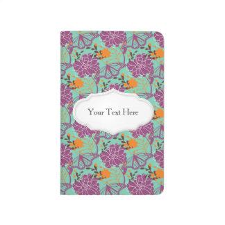 Floraciones y mariposas perfectas cuaderno