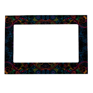 Floradore - Black Magnetic Picture Frame