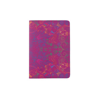 Floradore - Fuchsia Passport Holder