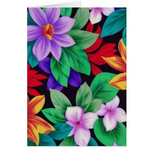 Floral1 Tarjeta De Felicitación