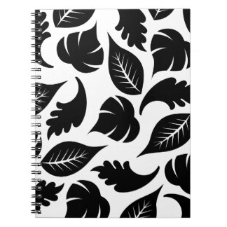 FLORAL24 BLACK AUTUMN FALL LEAVES VARIETY ASSORTME JOURNALS