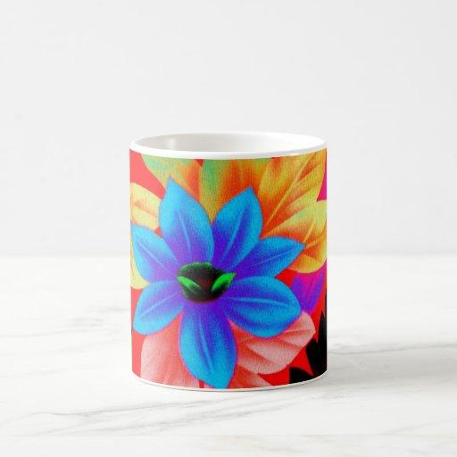 Floral2i1 Classic White Coffee Mug