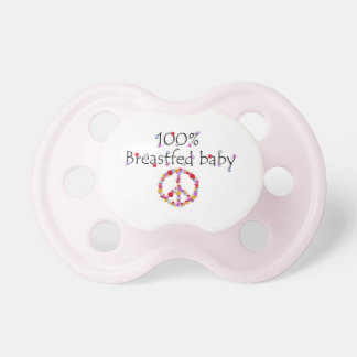 Floral 100% Breastfed Baby Pacifier