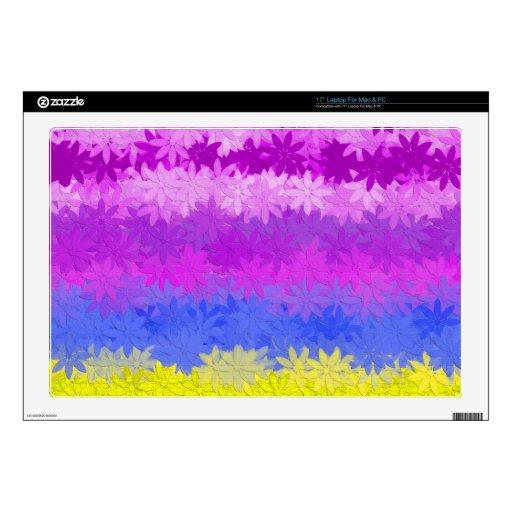 """floral 17"""" laptop skins"""