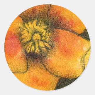 """Floral #1"" Floral Sticker"
