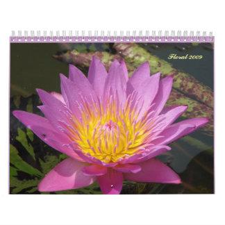 Floral 2009 calendar