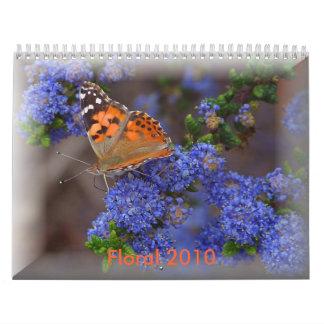 Floral 2010 Calendar