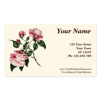 Floral 2013 Pocket Calendar Business Card