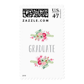 Floral | 2014 Graduation Postage