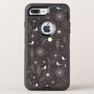 Floral 2 OtterBox defender iPhone 7 plus case