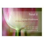 Floral 2 - Pink Tulip Business Card