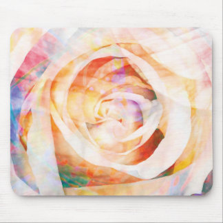 Floral Abstract 1 Gifts Mouse Pad