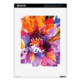 Floral Abstract 4 Gifts iPad 3 Decal