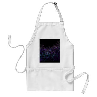 Floral abstract. adult apron