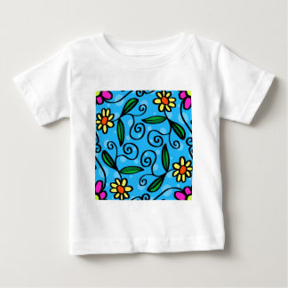 Floral Abstract Baby T-Shirt
