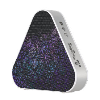 Floral abstract. bluetooth speaker