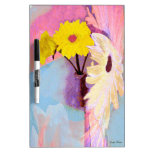 floral abstract Dry-Erase board