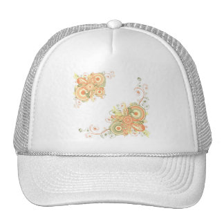 Floral Abstract Hat