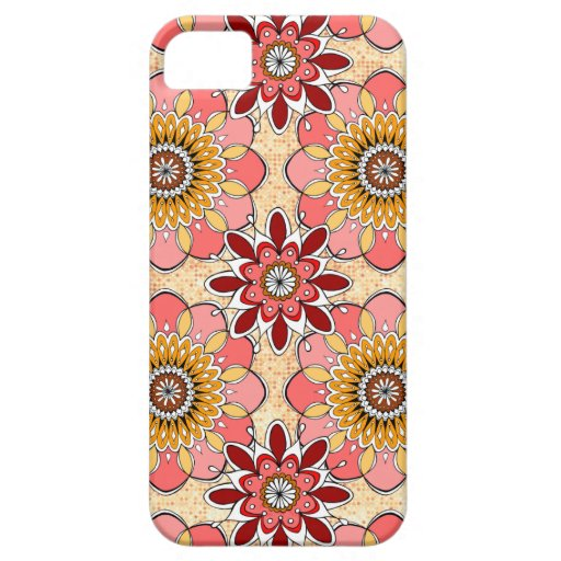 Floral Abstract iPhone 5 Case by Case-Mate