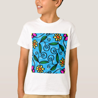 Floral Abstract T-Shirt