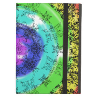 Floral abstraction case for iPad air