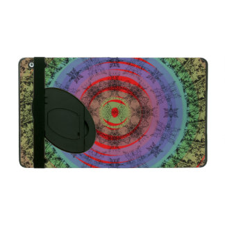 Floral abstraction iPad cover